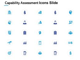 Capability Assessment Icons Slide Growth L596 Ppt Powerpoint Example