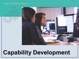 Capability Development Business Capability Leadership Performance Organisation Evaluation