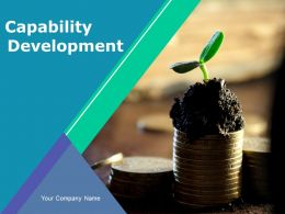 Capability Development Powerpoint Presentation Slides