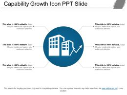 Capability Growth Icon Ppt Slide