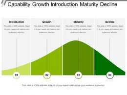 Capability Growth Introduction Maturity Decline
