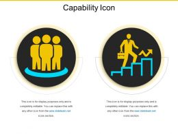 Capability Icon Ppt Examples Professional