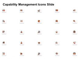 Capability Management Icons Slide Ppt Powerpoint Presentation Slides Elements
