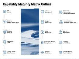 Capability Maturity Matrix Outline Ppt Powerpoint Pictures Rules