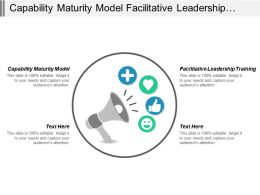 Capability Maturity Model Facilitative Leadership Training Business Hosting Cpb