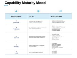 Capability Maturity Model Ppt Powerpoint Presentation Layouts Rules