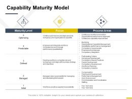 Capability Maturity Model Process Ppt Powerpoint Presentation Show Designs Download