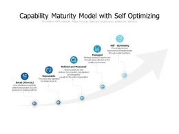 Capability Maturity Model With Self Optimizing