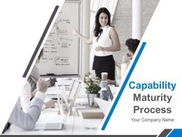 Capability Maturity Process Powerpoint Presentation Slides
