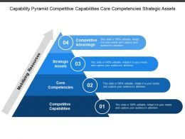 Capability Pyramid Competitive Capabilities Core Competencies Strategic Assets