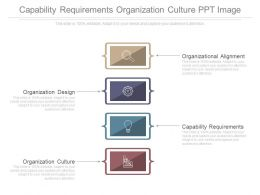 Capability Requirements Organization Culture Ppt Image