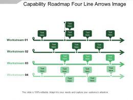 Capability Roadmap Four Line Arrows Image