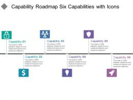 Capability Roadmap Six Capabilities With Icons