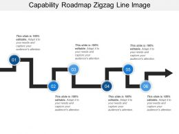 Capability Roadmap Zigzag Line Image