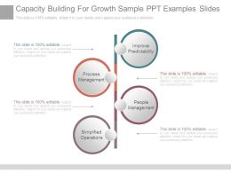 Capacity Building For Growth Sample Ppt Examples Slides