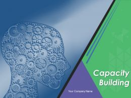 Capacity Building Powerpoint Presentation Slides