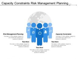 Capacity Constraints Risk Management Planning Strategy Initiatives Facility Management