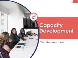 Capacity Development Powerpoint Presentation Slides