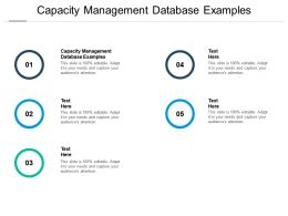Capacity Management Database Examples Ppt Powerpoint Presentation Layouts Graphics Cpb