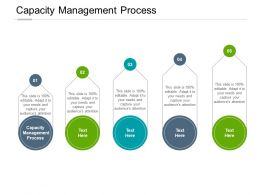 Capacity Management Process Ppt Powerpoint Presentation Inspiration Cpb