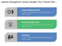 Capacity Management Saving Valuable Time Transfer Risk Invoice Proforma