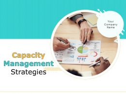 Capacity Management Strategies Powerpoint Presentation Slides