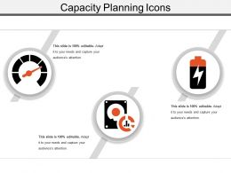 Capacity Planning Icons