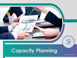 Capacity Planning Powerpoint Presentation Slides