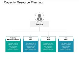 Capacity Resource Planning Ppt Powerpoint Presentation Inspiration Show Cpb
