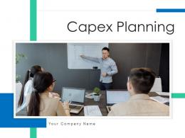 Capex Planning Business Departmental Replacement Growth Organizational Expenditure