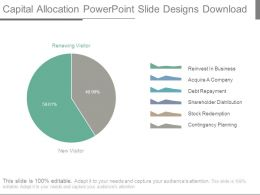 Capital Allocation Powerpoint Slide Designs Download