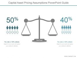 Capital Asset Pricing Assumptions Powerpoint Guide