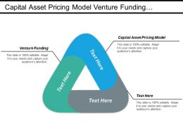 Capital Asset Pricing Model Venture Funding Competence Mapping Cpb