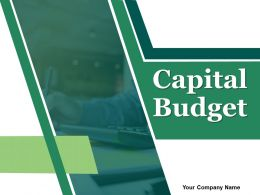 Capital Budget Powerpoint Presentation Slides