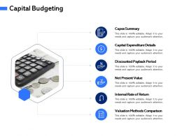 Capital Budgeting Internal M3062 Ppt Powerpoint Presentation Infographics Maker