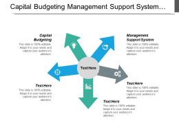 Capital Budgeting Management Support System Budget Performance Report Cpb