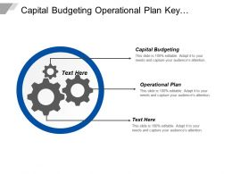 Capital Budgeting Operational Plan Key Responsibilities Key Accountabilities Cpb