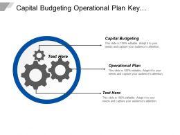 Capital Budgeting Operational Plan Key Responsibilities Key Accountabilities Cpb