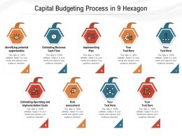 Capital Budgeting Process In 9 Hexagon