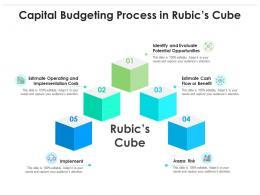 Capital Budgeting Process In Rubics Cube