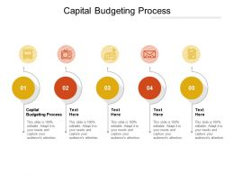Capital Budgeting Process Ppt Powerpoint Presentation Pictures Inspiration Cpb