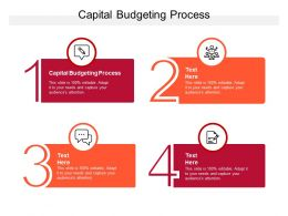 Capital Budgeting Process Ppt Powerpoint Presentation Summary Graphics Cpb