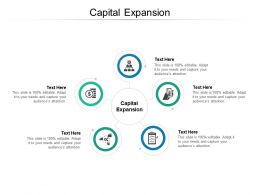 Capital Expansion Ppt Powerpoint Presentation Infographic Template Diagrams Cpb