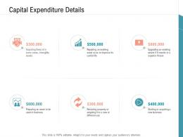 Capital Expenditure Details Infrastructure Management Services Ppt Themes