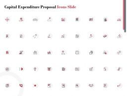 Capital Expenditure Proposal Icons Slide Ppt Powerpoint Presentation Icon Slides