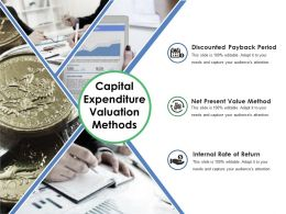 Capital Expenditure Valuation Methods Ppt Styles