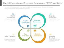 Capital Expenditures Corporate Governance Ppt Presentation