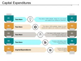 Capital Expenditures Ppt Powerpoint Presentation Gallery Influencers Cpb