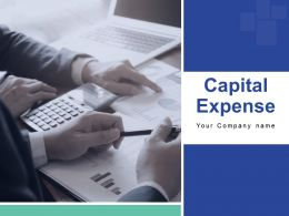 Capital Expense Powerpoint Presentation Slides