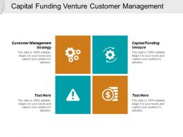 Capital Funding Venture Customer Management Strategy Cpb